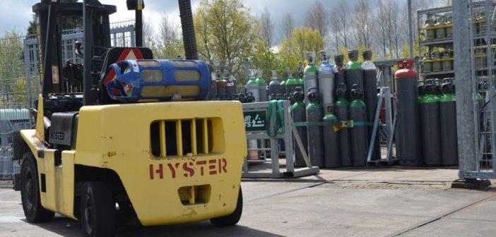 Meliora is erkend gasvulstation voor heftrucks